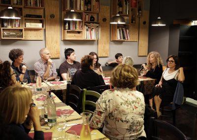 A cena con Loredana Lipperini