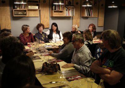 A cena conVioletta Bellocchio