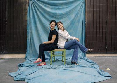 Cristina Obber e Maddalena Vianello