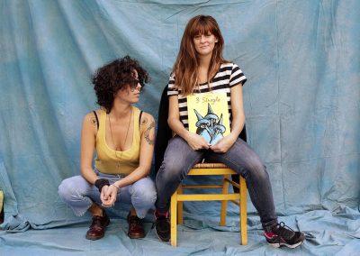 Facce da festival - Fiona Sansone e Cora Presezzi