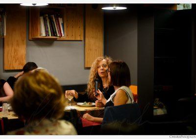 Lipperini a cena con scrittrice
