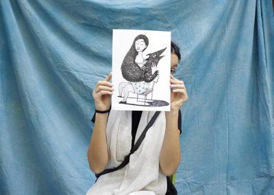 Maddalena Vianello con immagine inQuiete