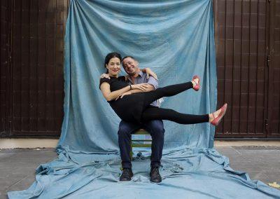 Maddalena Vianello e Fabio Fois
