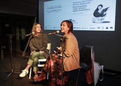 Valeria Parrella e Daria Bignardi